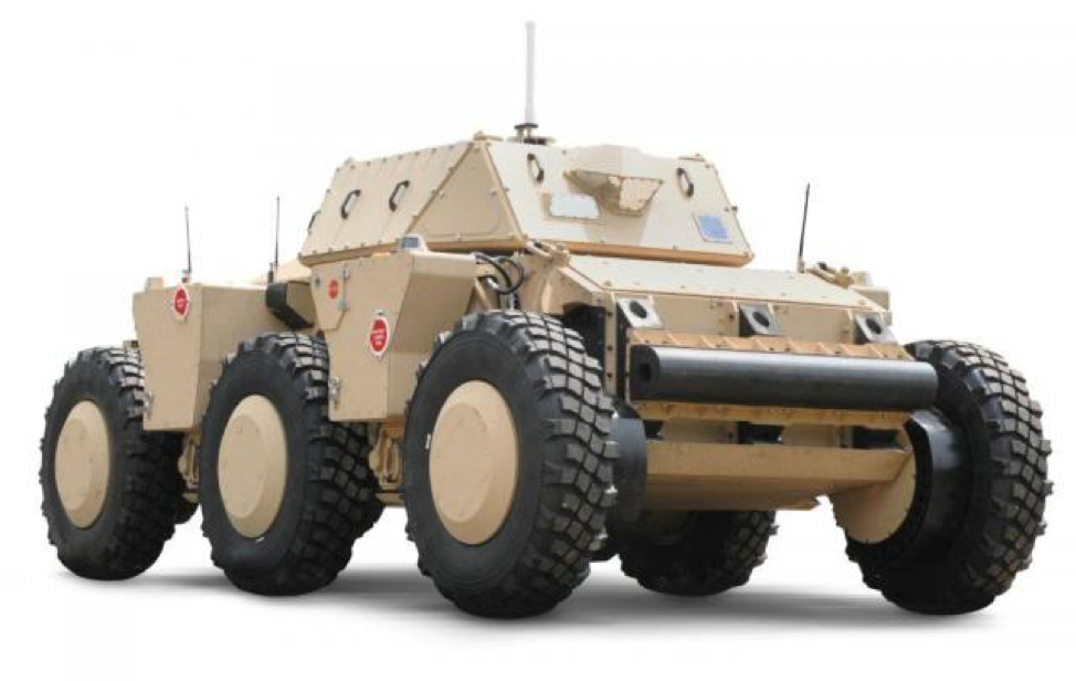 Figure 2: U.S. Army concept of future autonomous vehicle demonstrator. Could this be the command post of the future? (Courtesy: U.S. Army.)